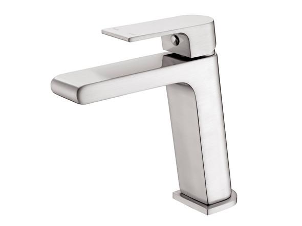 Vitra  Basin Mixer Tap (Brushed Nickel) - 13943