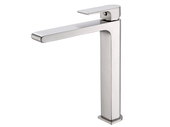 Vitra Tall Basin Mixer Tap (Brushed Nickel) - 13944