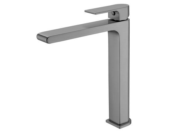 Vitra Tall Basin Mixer Tap (Gun Metal Grey) - 13950