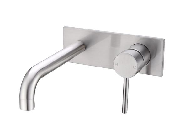 Dolce Stylish Basin Mixer Tap (Brushed Nickel) - 13972