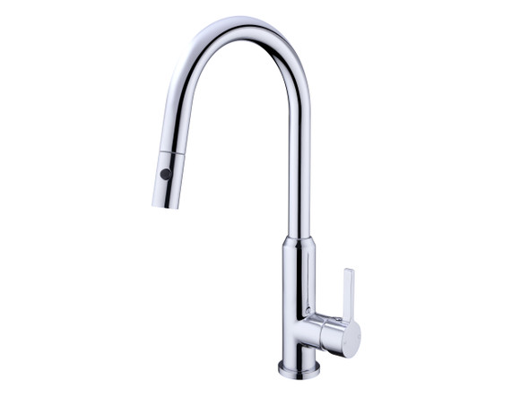 Pearl Pull Out Spray Kitchen Mixer Tap (Chrome) - 13987