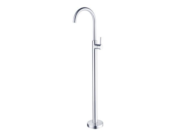 Dolce Floor Standing Bath Mixer Tap (Chrome) - 14031