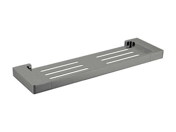 Pearl/Vitra  Shower Shelf Accessory (Gun Metal Grey) - 14058