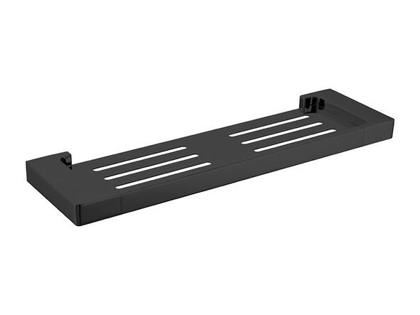 Pearl/Vitra  Shower Shelf Accessory (Matt Black) - 14067