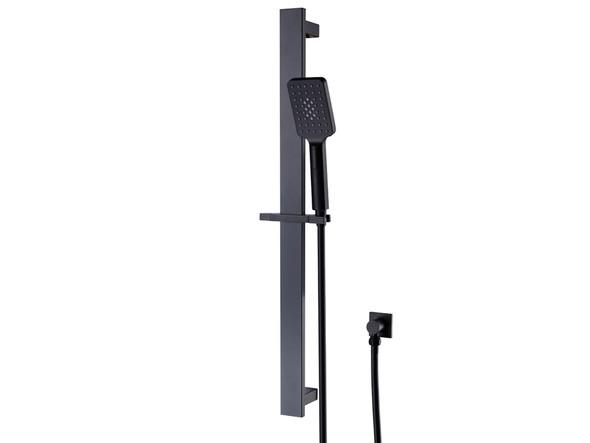 Celia  Shower Rail Set Tap (Matt Black) - 14010