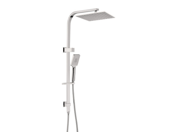 Dolce Combo Top Inlet Shower Rail Set Tap (Brushed Nickel) - 14148