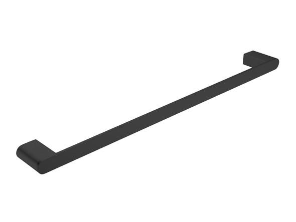Bianca 600mm Single Towel Rail Accessory (Matt Black) - 14208