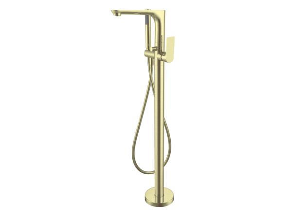 Bianca Floor Standing Bath Mixer Tap (Brushed Gold) - 14227
