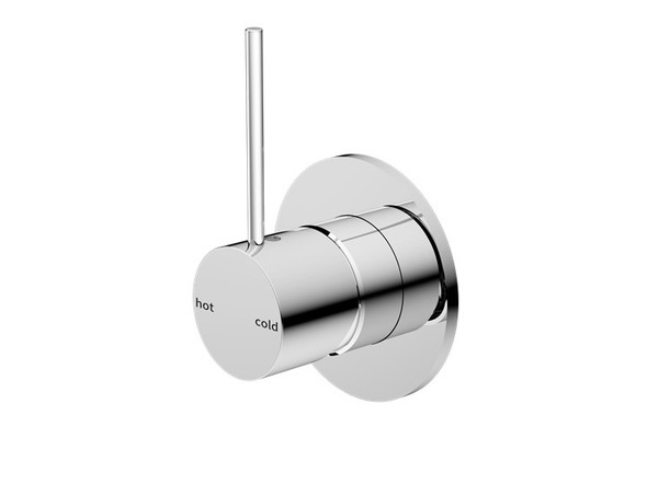 Mecca Top Lever Wall Mixer & Spout Tap (Chrome) - 14250