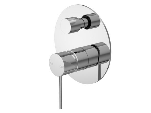 Mecca Diverter Wall Mixer Tap (Chrome) - 14290