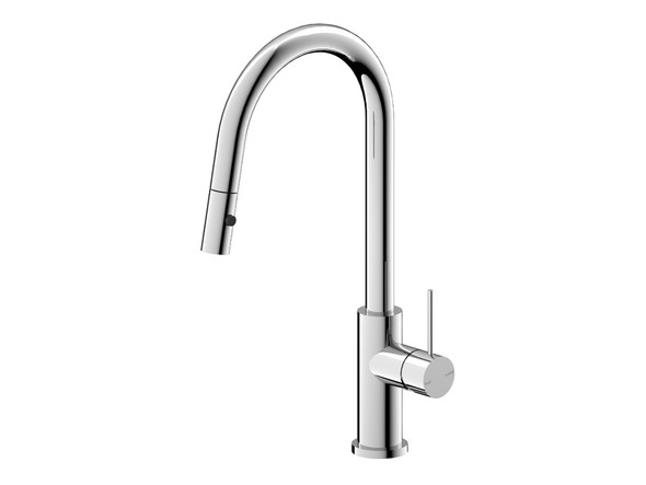 Mecca Pull Out Spray Kitchen Mixer Tap (Chrome) - 14295