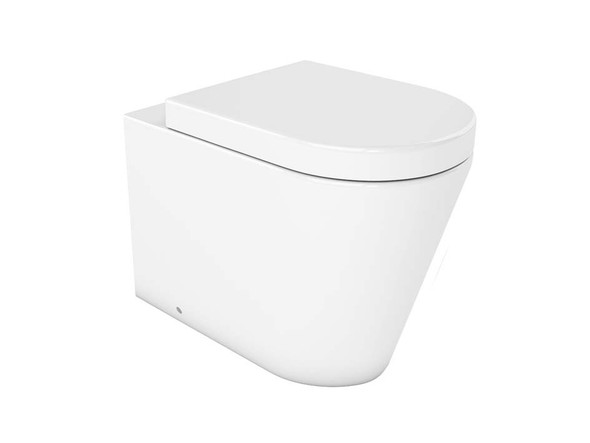 Jeffrey LT Concealed Cistern Pan Toilet (White Gloss) - 14339