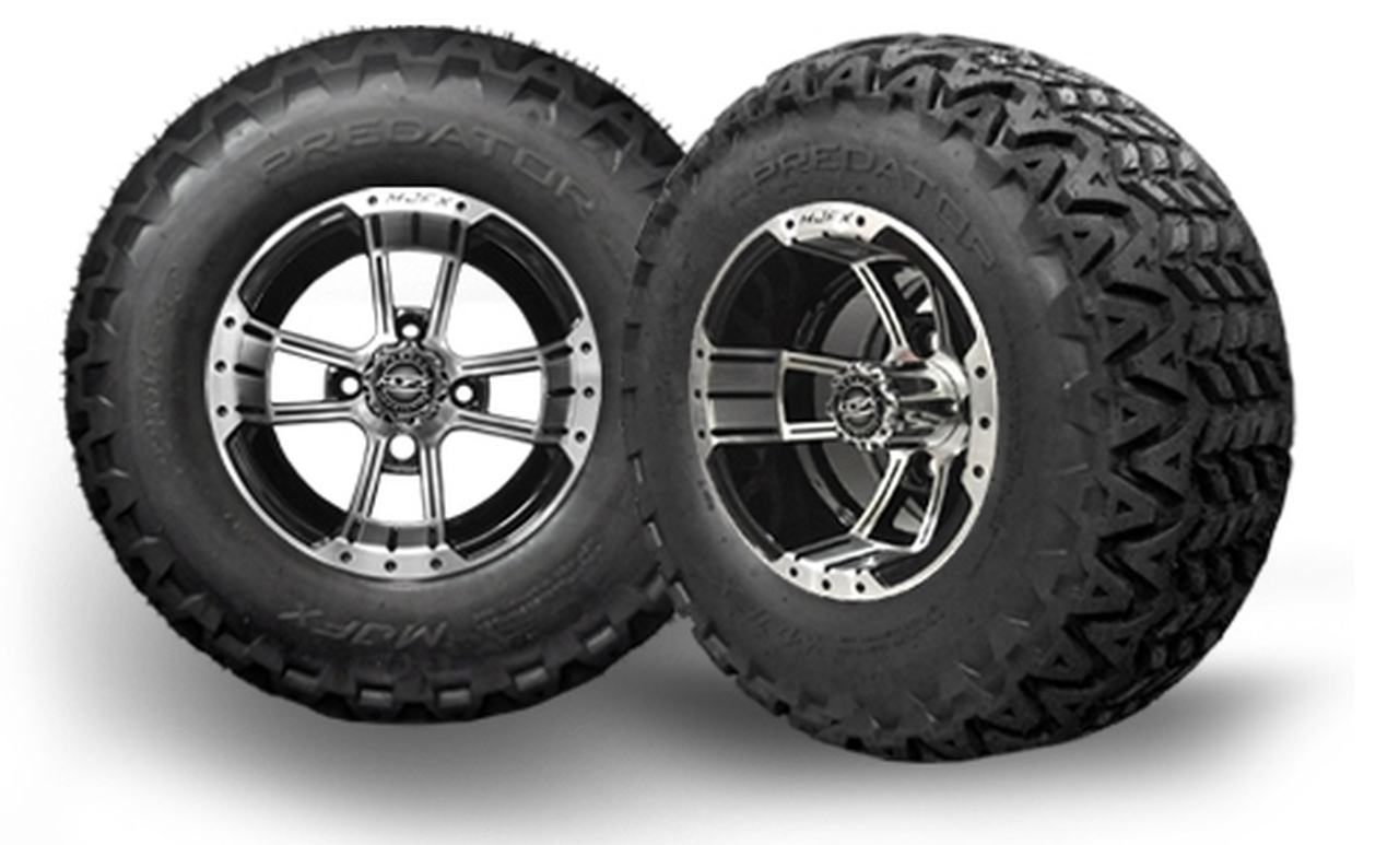 Golf Cart Tires, Wheels & Lift Kit Combos from DIY Golf Cart