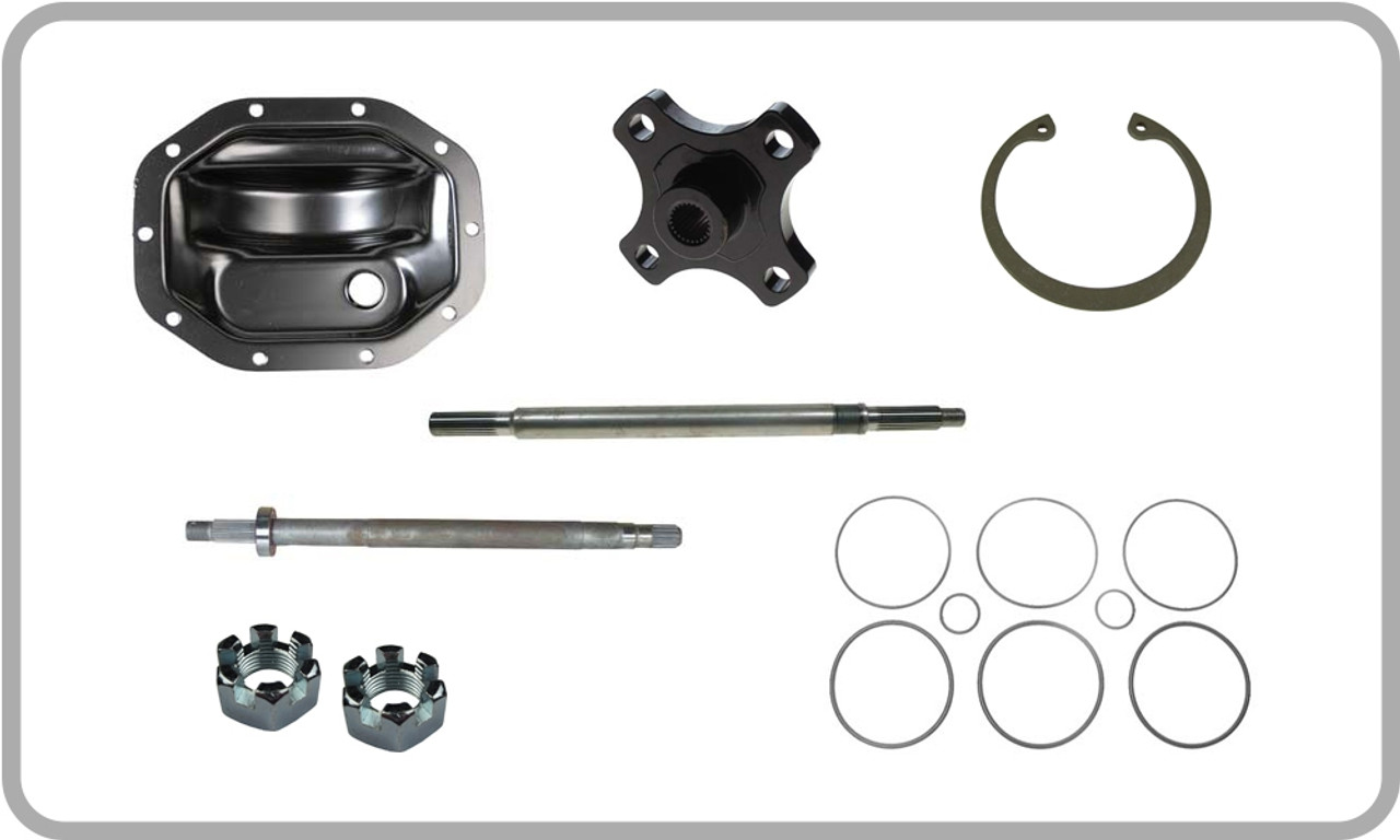 rear axle & differential parts