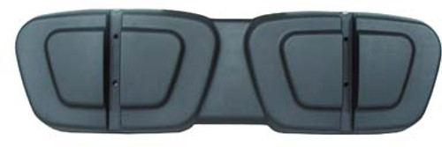 Club Car Ds Black Plastic Seat Back Shell 2000 And Up Golf Cart Parts