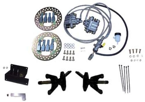 Disc Brake Conversion Kit System, Available at DIY Golf Cart