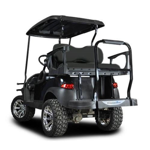 Yamaha Golf Cart Rear Seat Kits - Flip & Stationary Seat Kit