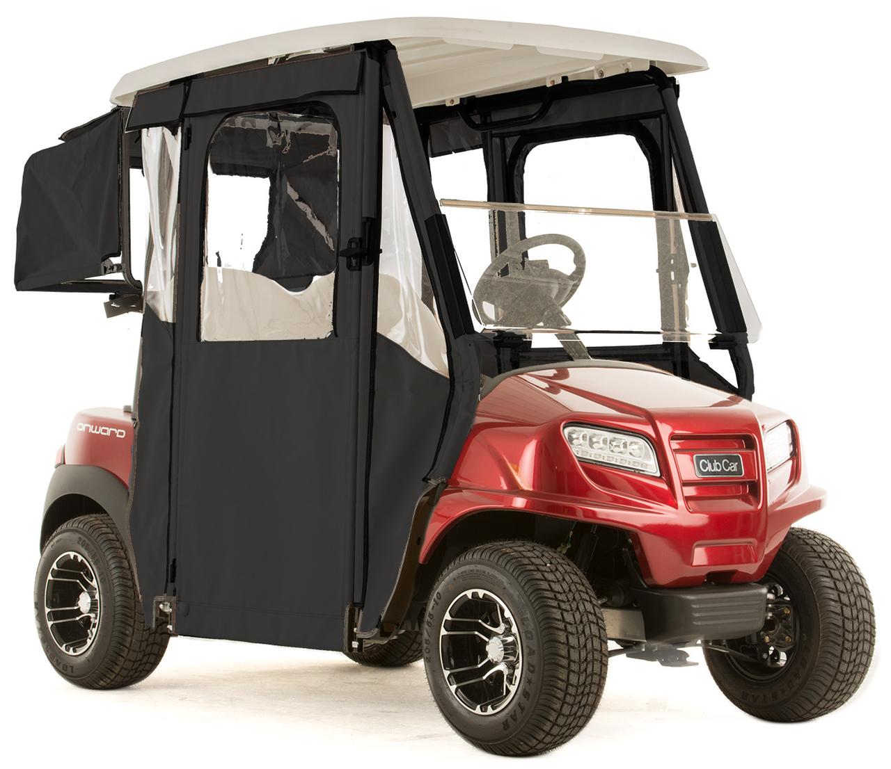 Club Car Accessories >> Club Car Onward Door Lux 3 Sided Sunbrella Golf Cart Enclosure Choose Color