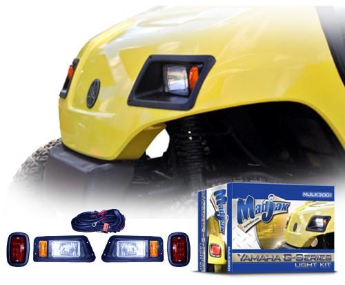 madjax yamaha g14/g16/g19/g22 complete headlight and tail light kit