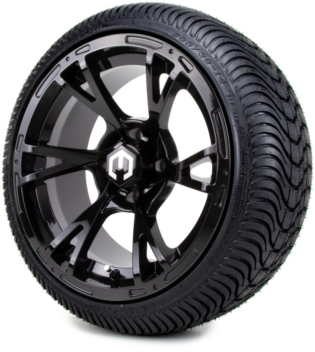 "MODZ® 14"" Avalanche Glossy Black"