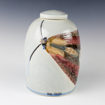 Julia Galloway - Pink Streak Urn