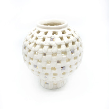 Yoonjee Kwak - Pocket Moonjar - Purple Dots 1