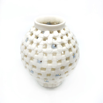 Yoonjee Kwak - Pocket Moonjar - Blue Dots 1