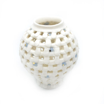 Yoonjee Kwak - Pocket Moonjar - Blue Dots 2
