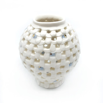 Yoonjee Kwak - Pocket Moonjar - Blue Dots 3