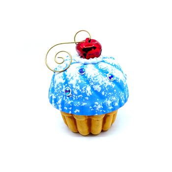 Jason Bige Burnett - Cupcake Ornament 14