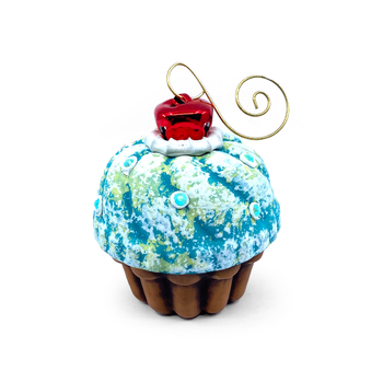 Jason Bige Burnett - Cupcake Ornament 19