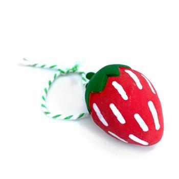 Christina Erives - Strawberry Ornament 2