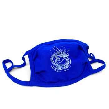 Blue Akio Dragon Mask
