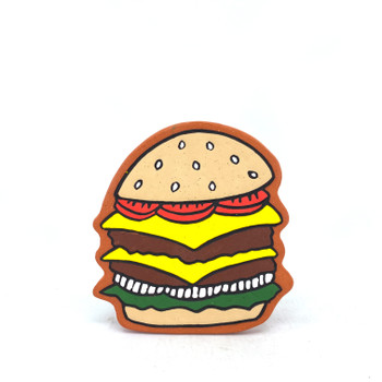 Christina Erives - Double Cheeseburger Tile