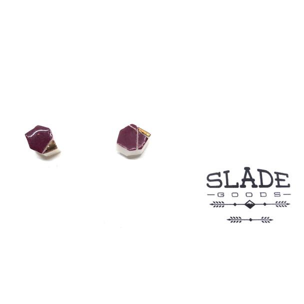 Carly Slade - Gold Trim Polygon M 3