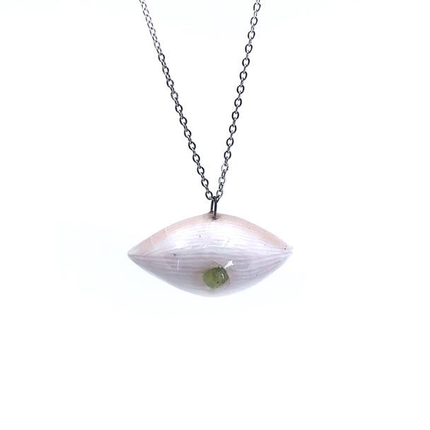 Katy Drijber - sapphire eye necklace