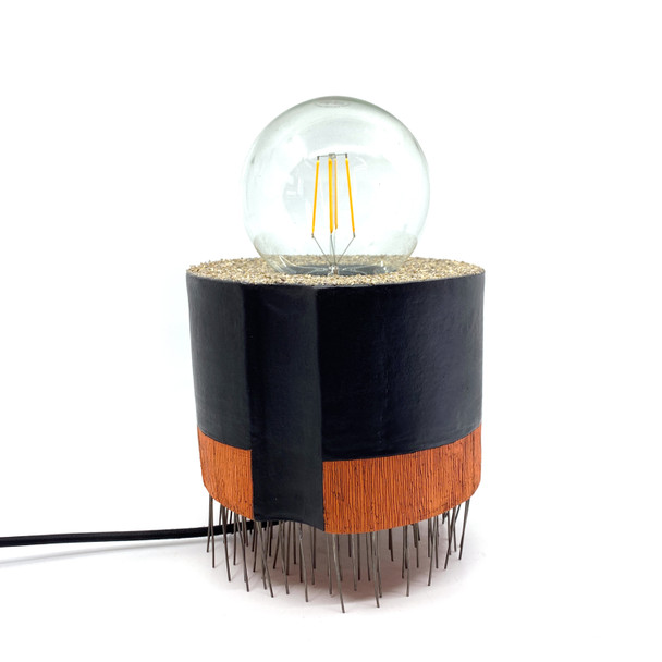 Iva Haas - Orange/Black Lamp