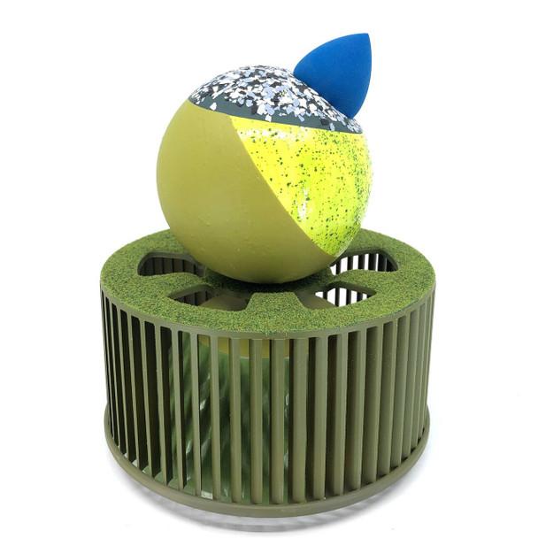 Iva Haas - Green Sculpture
