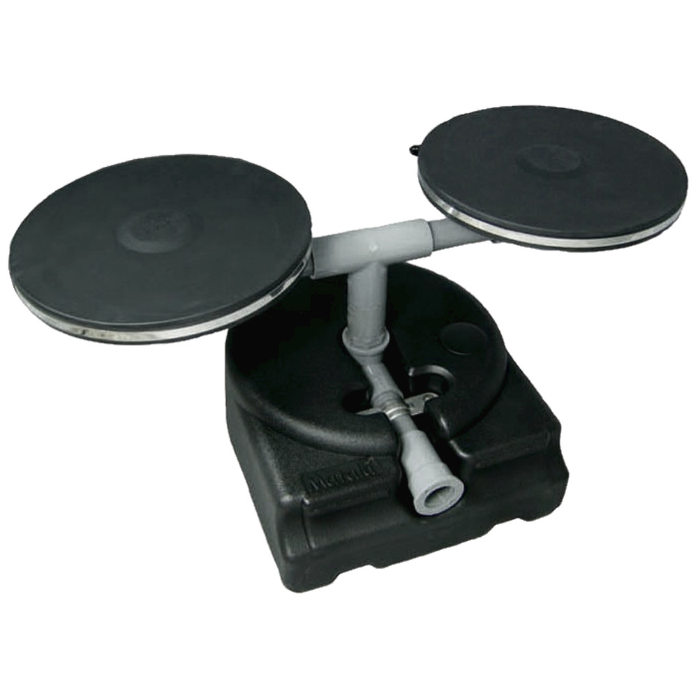 Dual 12 Inch Disc Diffuser with Base