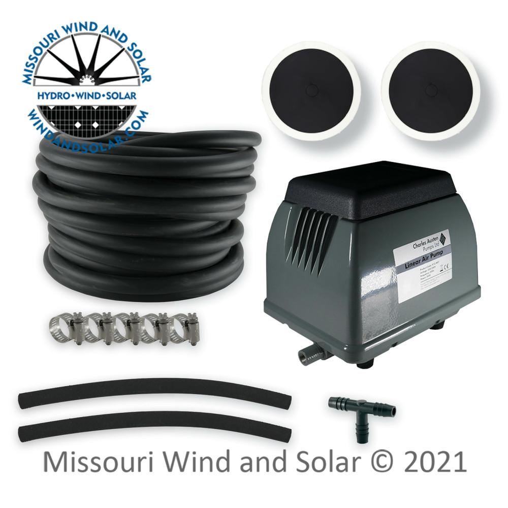 40 Liter Air Pump & Pond Aeration Kit