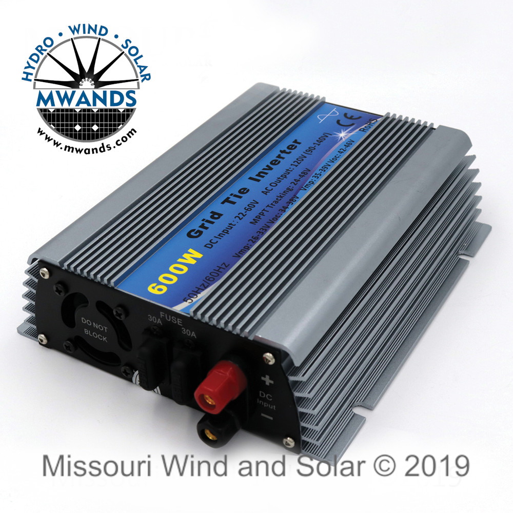 500 Watt Pure Sine Solar Grid Tie Micro Inverter