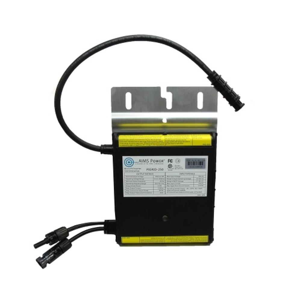 250 Watt Micro Grid Tie Inverter with Cable