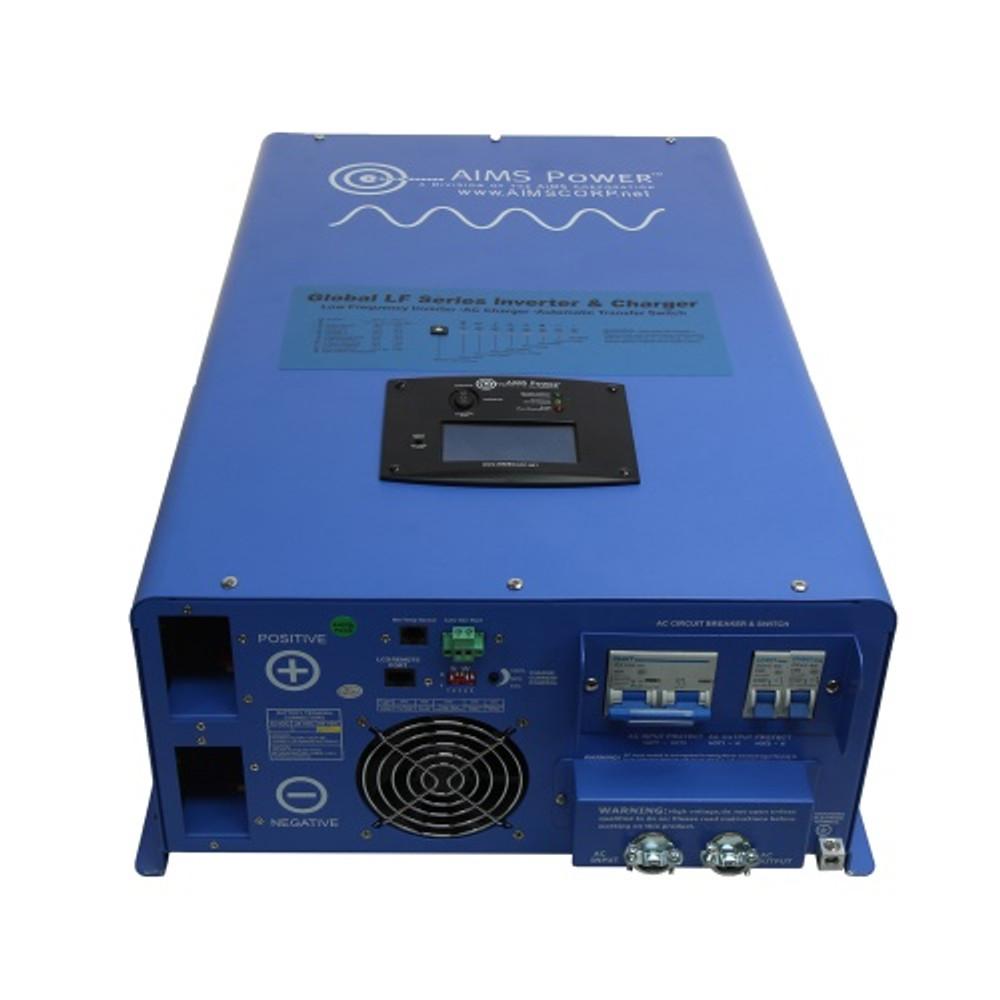 PICOGLF120W48V240VS 12000 Watt 48 Volt Inverter Charger Display