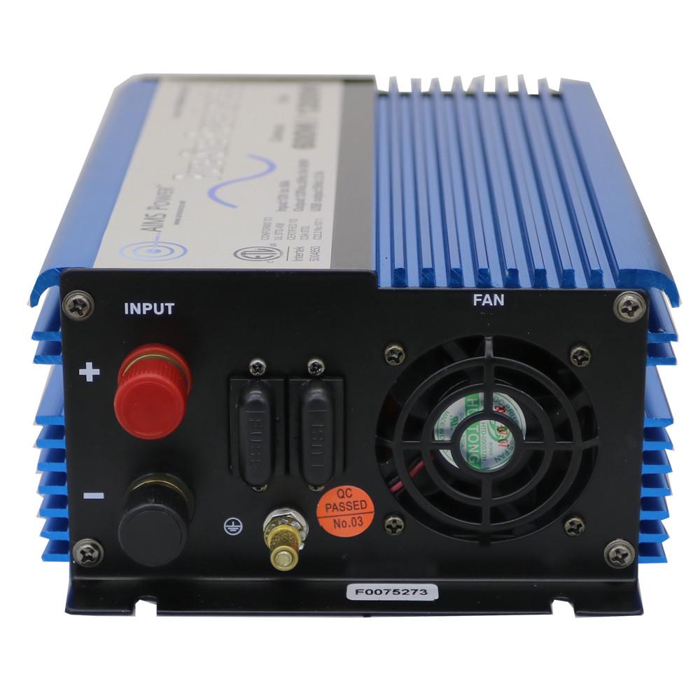 600 Watt Pure Sine Power Inverter 12 Volt - UL 458 Listed DC Side