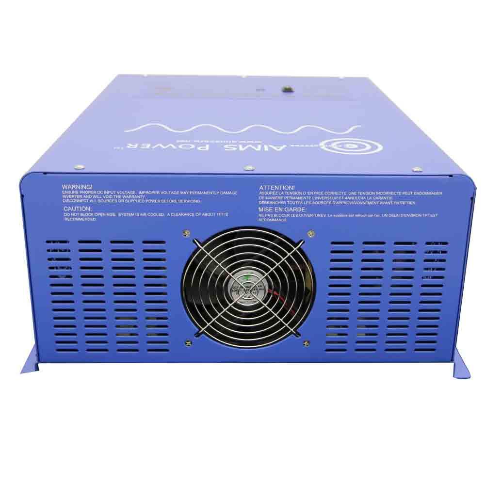 4000 Watt 24 Volt Pure Sine Inverter UL Listed