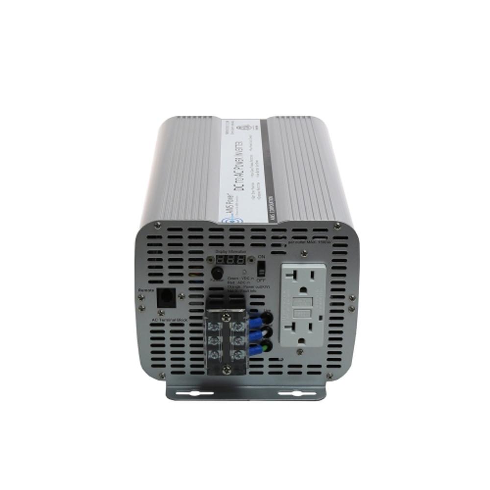 UL Listed 2000 Watt 12 Volt Power Inverter AC Outlet