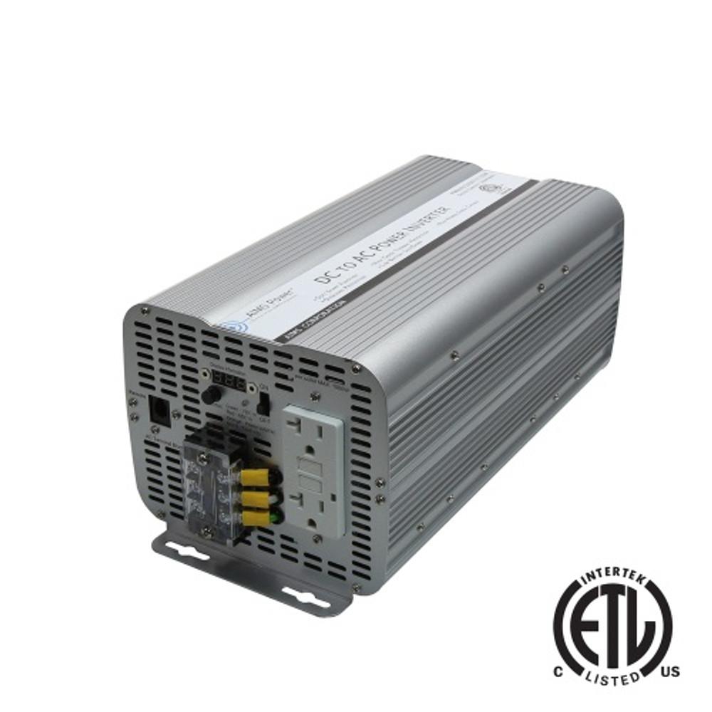 3000 Watt 12 Volt GFCI ETL Certified Power Inverter