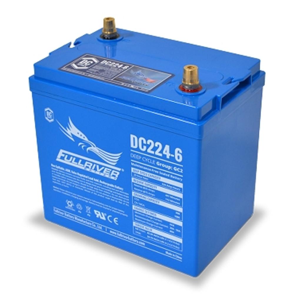 Fullriver DC224-6 6 Volt Deep Cycle AGM Battery