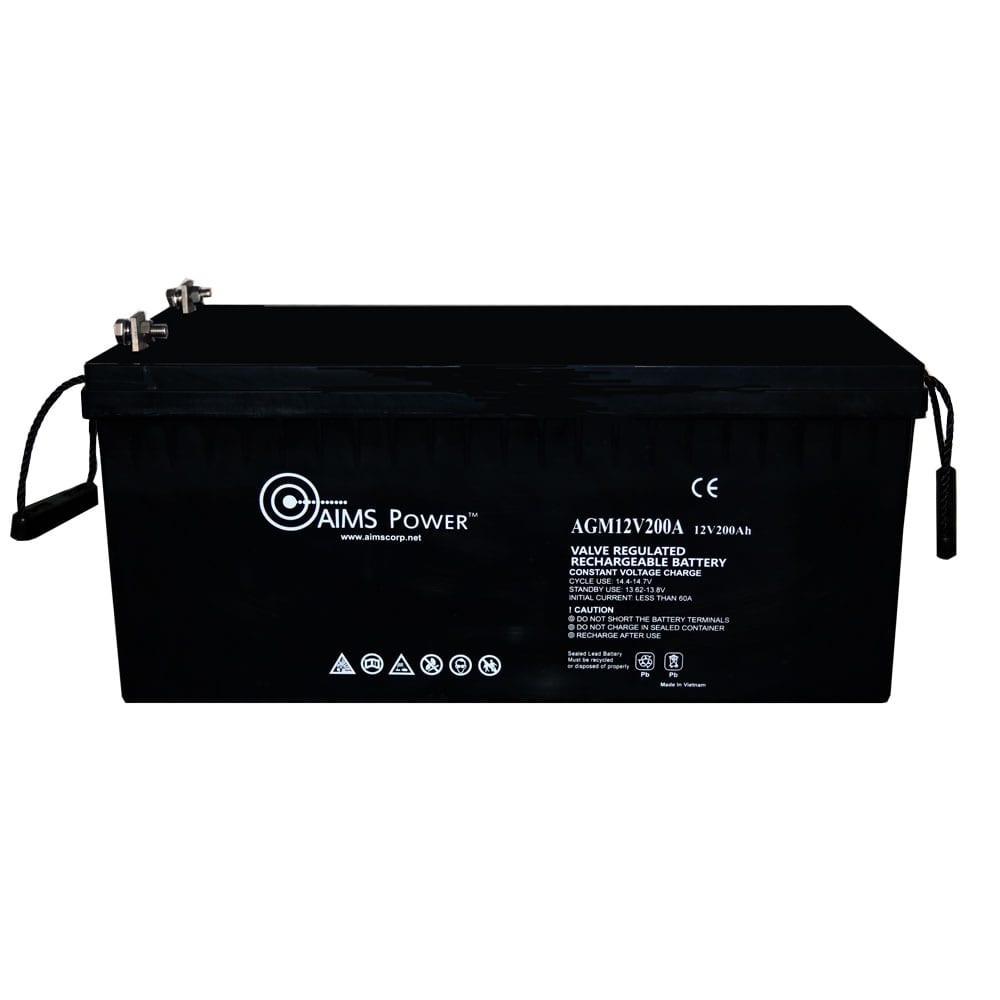 12V 200Ah Deep Cycle AGM Battery