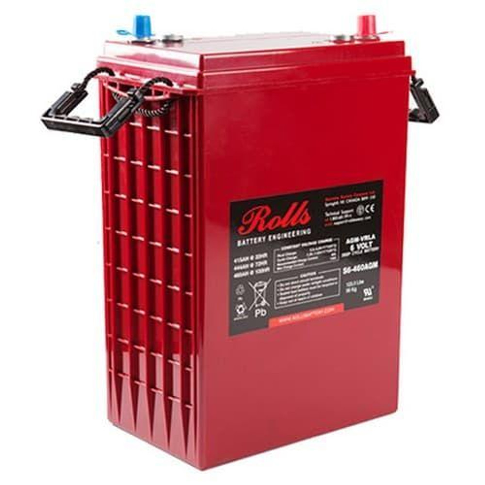 Rolls Surrette S6-460AGM 6V 415AH AGM Battery